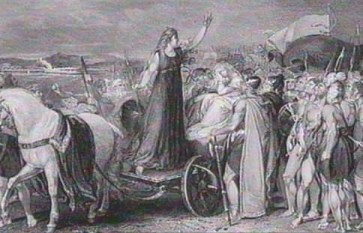 Boudica y su ejército