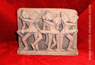 Bajorrelieves de los templos de Kajuraho
